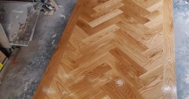 Herringbone Oak Flooring