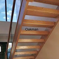 oak stairs chunky steps